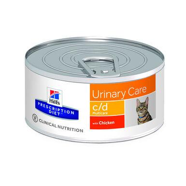 Hill's Feline Prescription Diet Lata c/d 156 gr