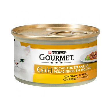 Latas Gourmet Gold Varios Sabores 85 gr