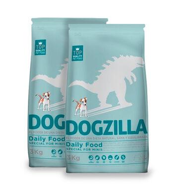 Dogzilla Daily Food Adult Mini Pollo y Arroz - 2x3 kg Pack Ahorro