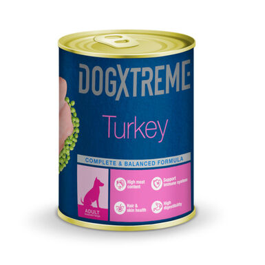 Dogxtreme lata comida húmeda para perro adulto
