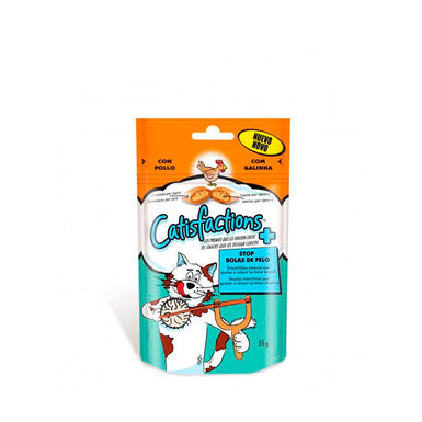Catisfactions Snacks para gatos 60 gr