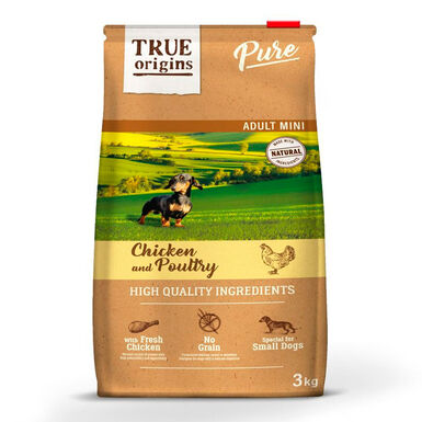 True Origins Pure Dog Adult Mini Pollo