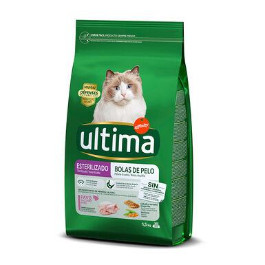Affinity Ultima Feline Adult Sterilized Hairball Control pavo y cebada