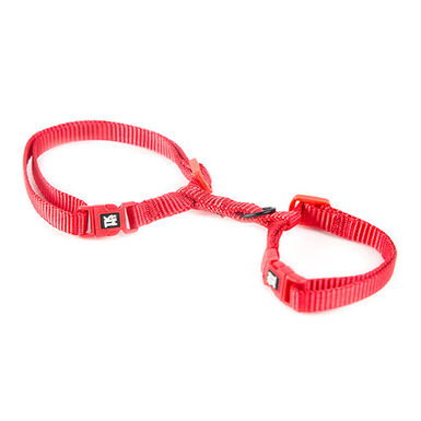 TK-Pet Classic Nylon arnés gatos rojo ajustable