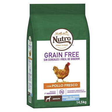 Nutro Grain Free Adult Large Breed Pollo
