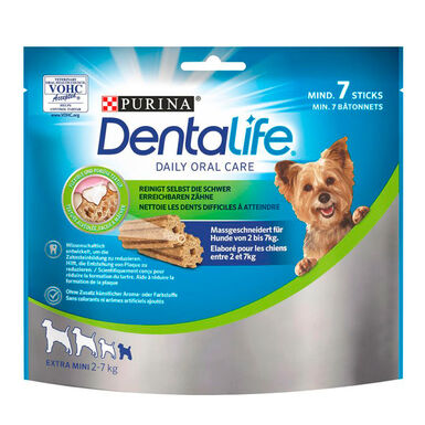 Pack Snacks Dentalife Perro Razas Mini 345gr