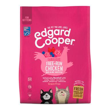 Edgard & Cooper Kitten pollo de corral y pescado blanco 1,75 kg