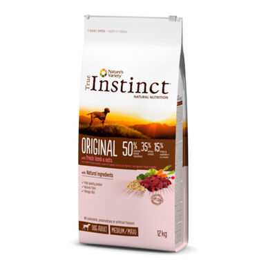 True Instinct Original Medium/Maxi Adult con pollo y arroz integral