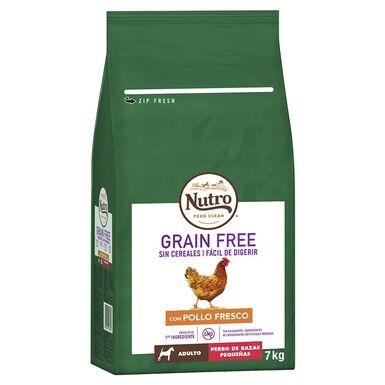 Nutro Grain free adulto mini pollo 7 kg