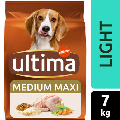 Ultima pienso light Affinity Adult para perros