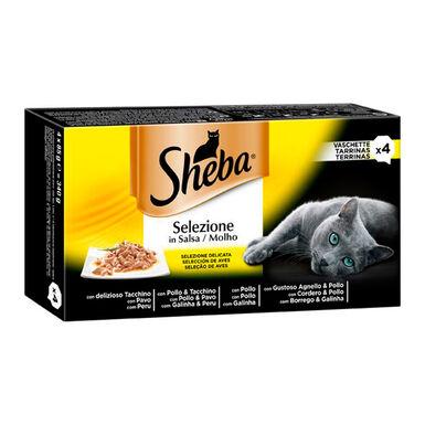 Tarrina Sheba Selezione Salsa 4 x 85 gr