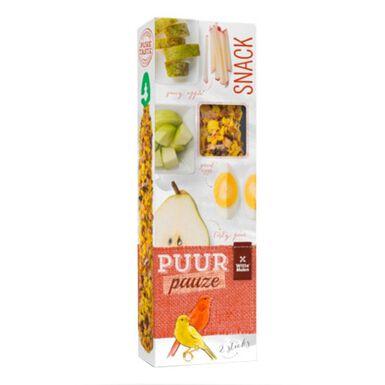 Puur Pauze barritas de fruta y huevo para canarios