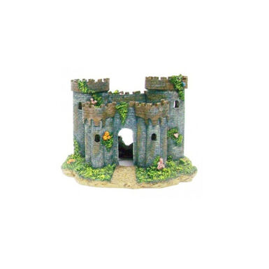 Penn-Plax castillo medieval francés para acuario