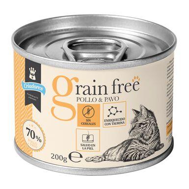Criadores Grain Free Húmedo para gatos