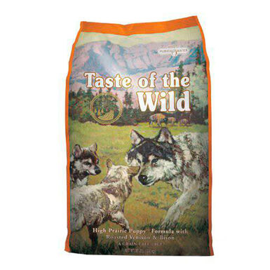 Pienso para cachorros Taste of the Wild High Prairie Puppy bisonte y venado
