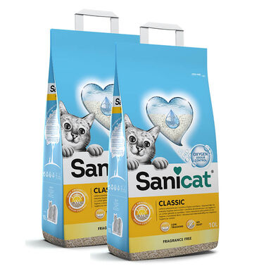 Arena Sanicat Classic - 2x10 litros Pack Ahorro