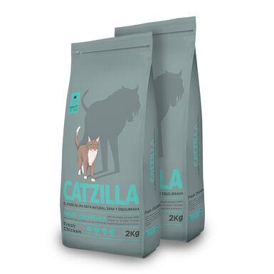 Catzilla Feline Adult Sterilised - 2x2 kg Pack Ahorro