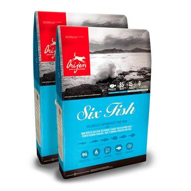 Orijen 6 Fish - 2x11 kg Pack Ahorro