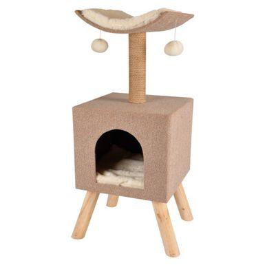 TK-Pet Amelia rascador para gatos con cama cubo