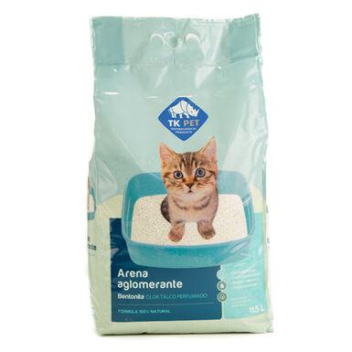 TK-Pet arena aglomerante olor talco para gatos