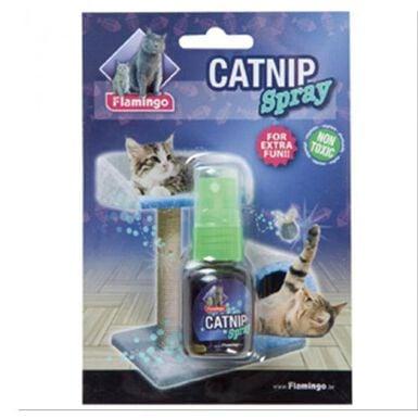Flamingo spray de catnip para gatos