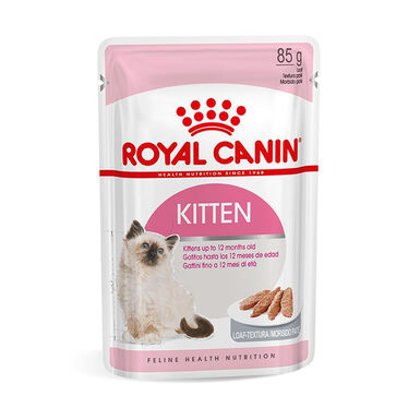 Pack 12 Sobres Royal Canin Feline Kitten Loaf 85 gr