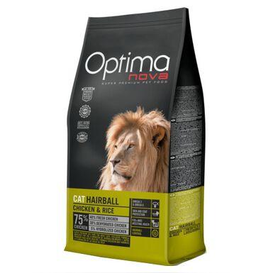 Optima Nova Cat Hairball comida para gatos