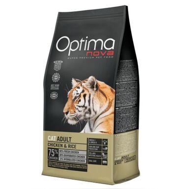 Optima Nova Adult Pollo comida para gatos