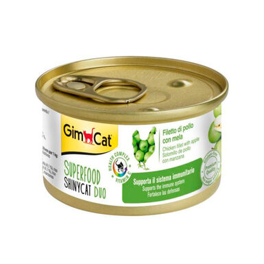 Pack 24 Latas GimCat SuperFood para gato 70 gr