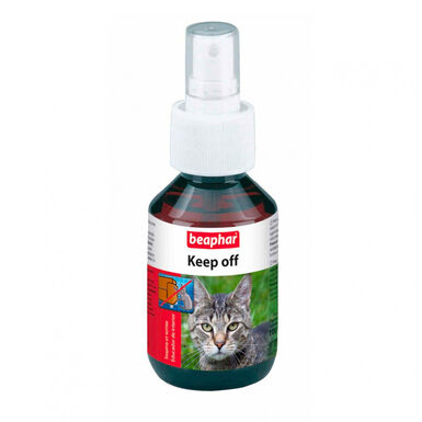 Repelente de interior Keep Off Spray Educador anti-rasguños y malos hábitos para gato