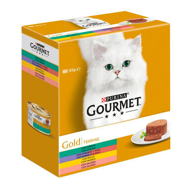 Gourmet Gold Terrine Surtido 8 x 85 gr