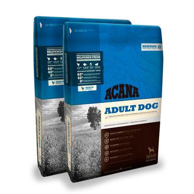 Acana Adult Dog - 2x17 kg Pack Ahorro