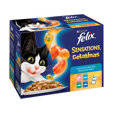 Felix Sensations pescado en gelatina