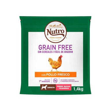Nutro Grain free adulto mini pollo