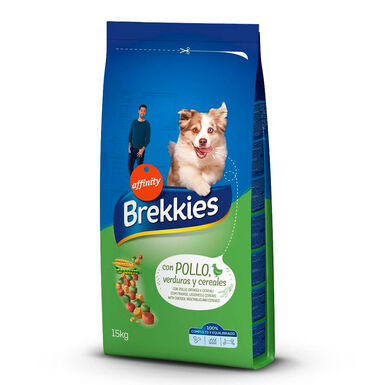 Brekkies Excel pollo y cereales 20 kg