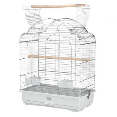 Alamber Ninfa Cromo jaula para pájaros