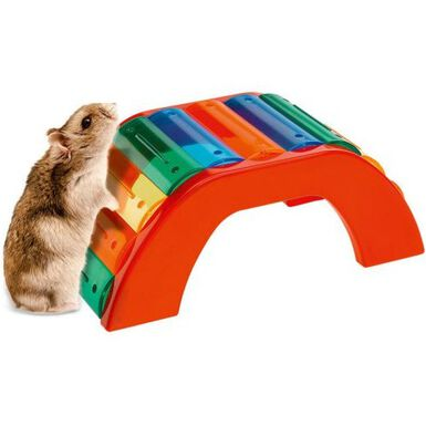 Ferplast puente de colores para hámsteres