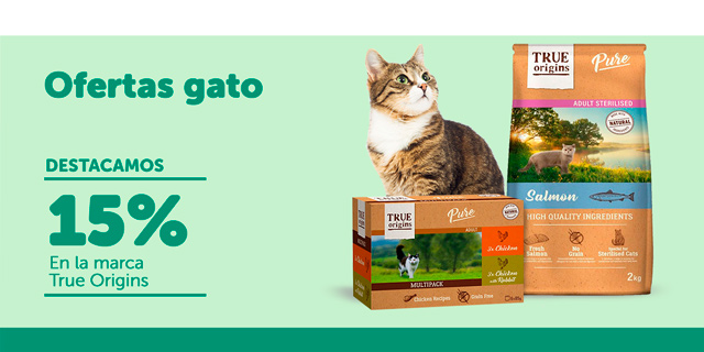 Ofertas gato - True Origins