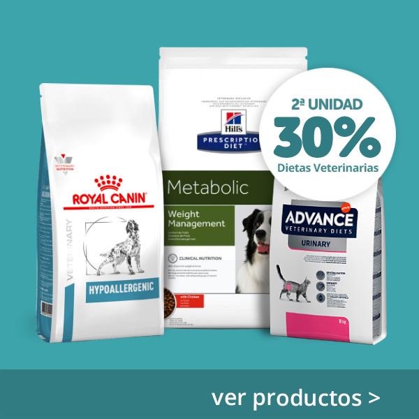 2ª al 30% dietas veterinarias