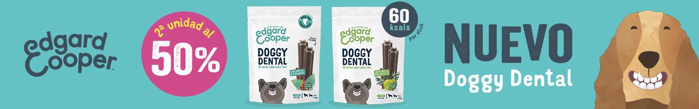2ª al 50% en los nuevos snacks dentales Edgard & Cooper