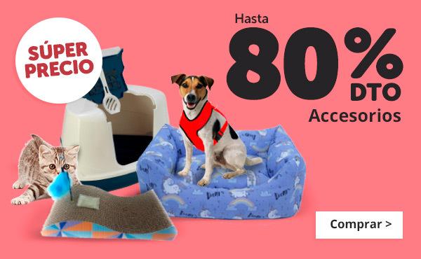 20% accesorios perro y gato