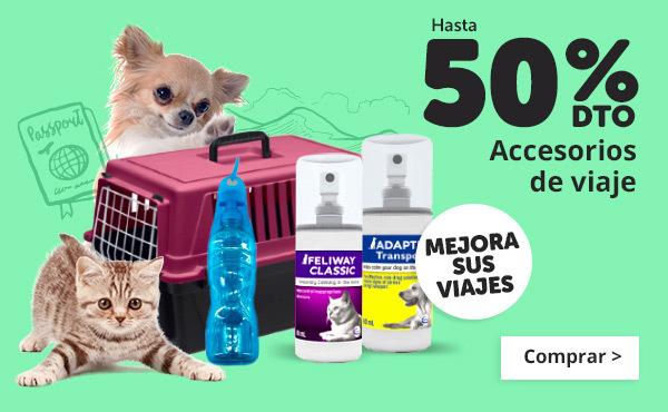 ¡Viajamos juntos! Todos los accesorios para perros y gatos