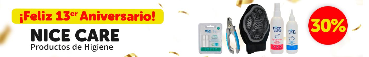 30% en toda la marca Nice Care