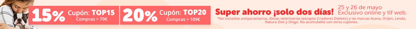¡Elige tu descuento! 5€ o 10€
