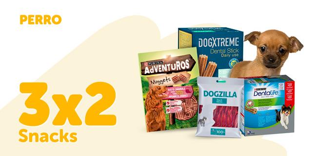 3x2 snacks perro