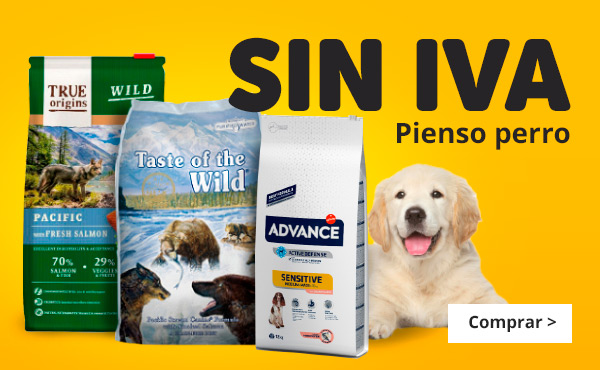 Sin IVA pienso Perro