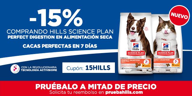 Hills Science Plan para una perfecta digestión