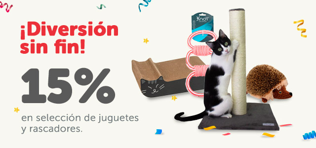 15% de descuento en juguetes