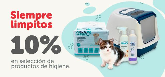 10% en accesorios de higiene