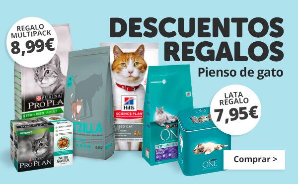 Ofertas en pienso esterilizado para gatos